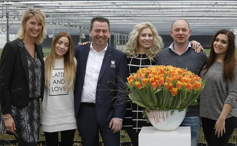 Tulipa'Ogene' for Dutch Eurovision Song Contestants - Dümmen Orange